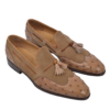 Ducal Firenze Ostrich leather loafers