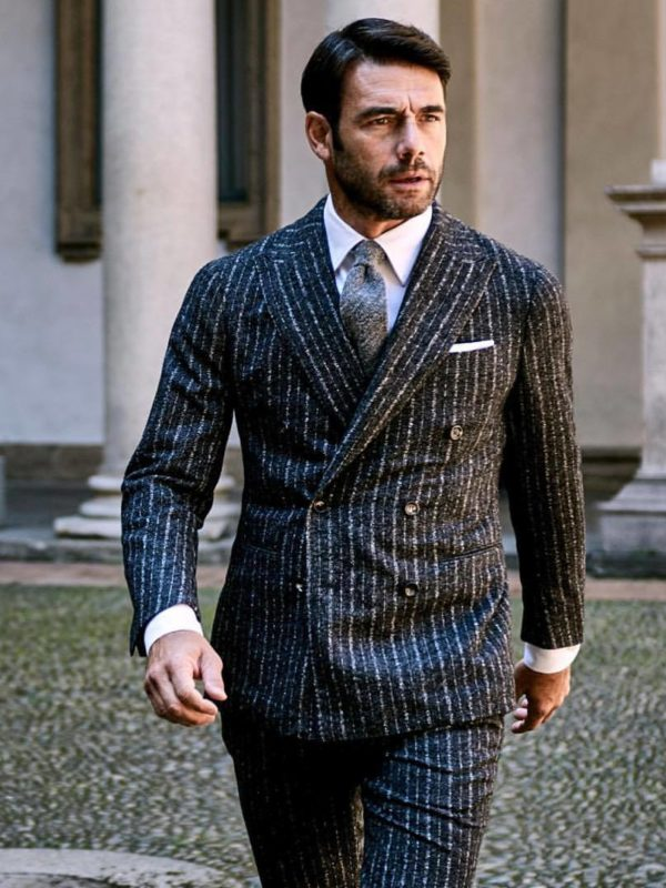 Stile Latino double breasted suit