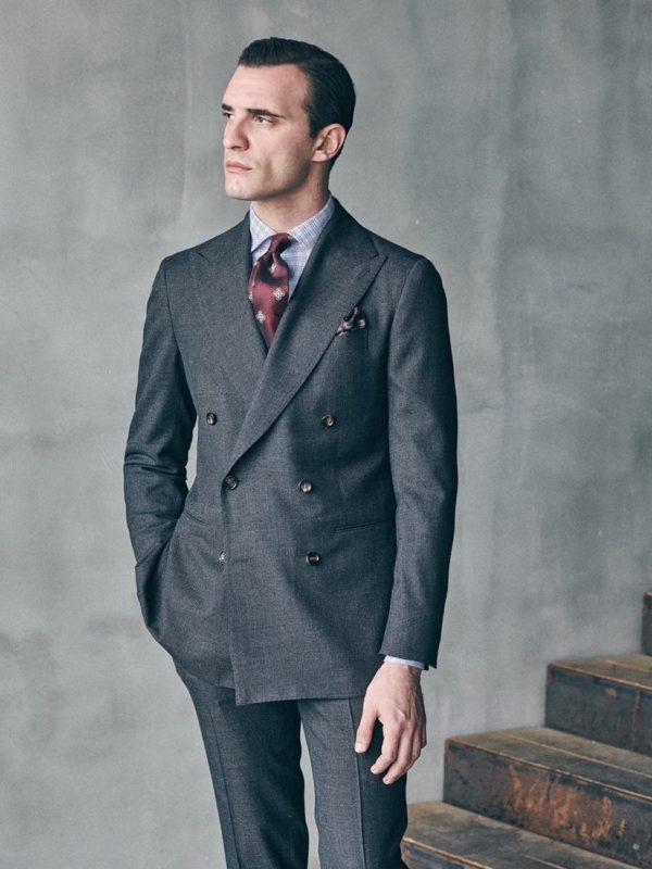 Stile Latino flannel suit
