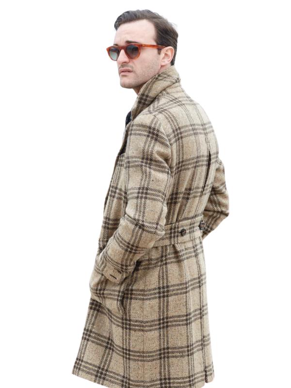 Stile Latino over coat