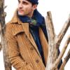 Stile Latino coat corduroy