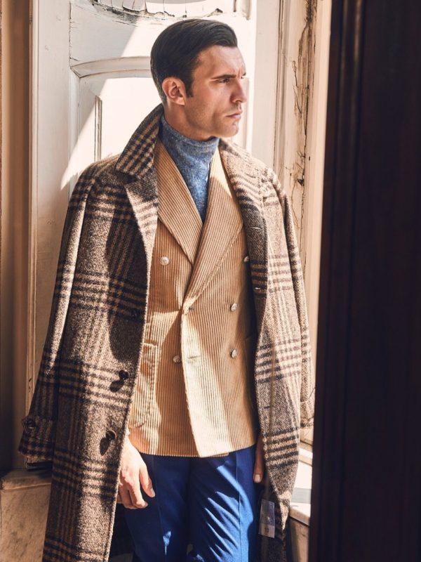 Stile Latino corduroy blazer