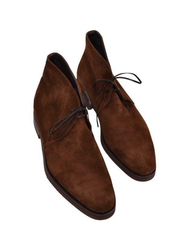Ducal Firenze suede chukka boots