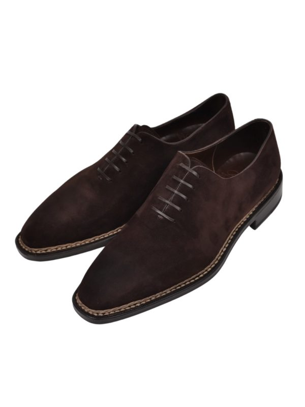 Ducal Firenze suede wholecut norvegese
