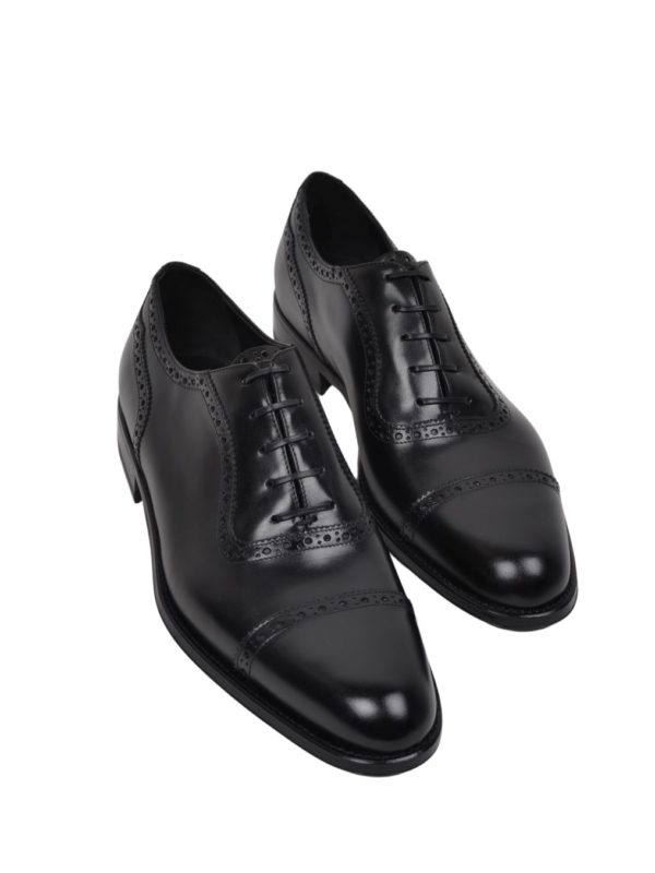 Ducal Firenze oxford black shoes