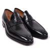 Enzo Bonafe loafers black handmade