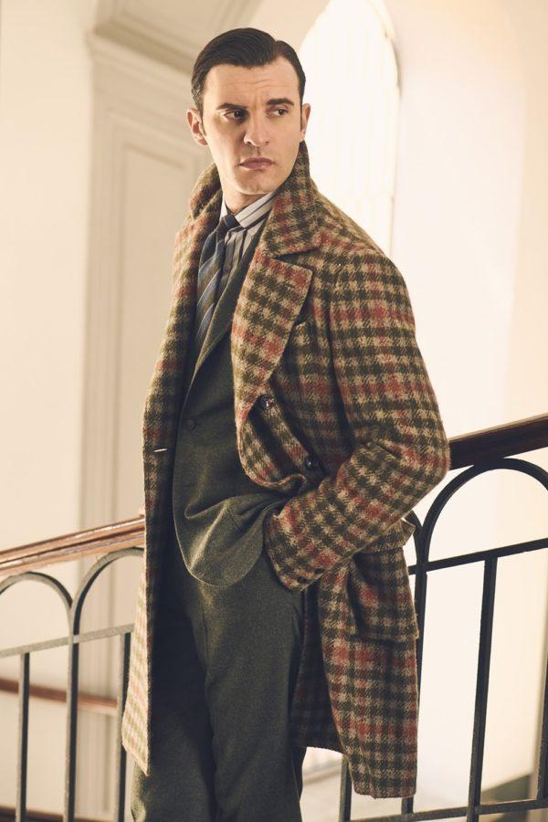 Stile Latino cashmere overcoat