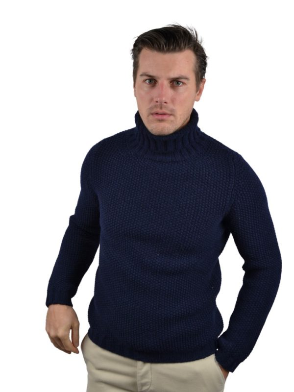 Stile Latino lambswool turtleneck sweater