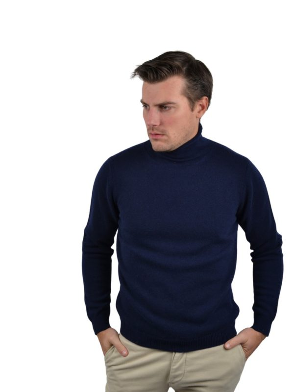 Stile Latino cashmere turtleneck sweater