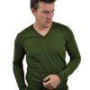 Stile Latino cashmere v neck sweater