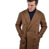 Stile Latino double breasted coat brown