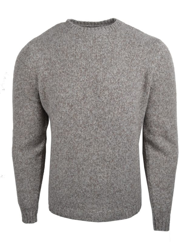 Stile Latino cashmere wool sweater brown beige