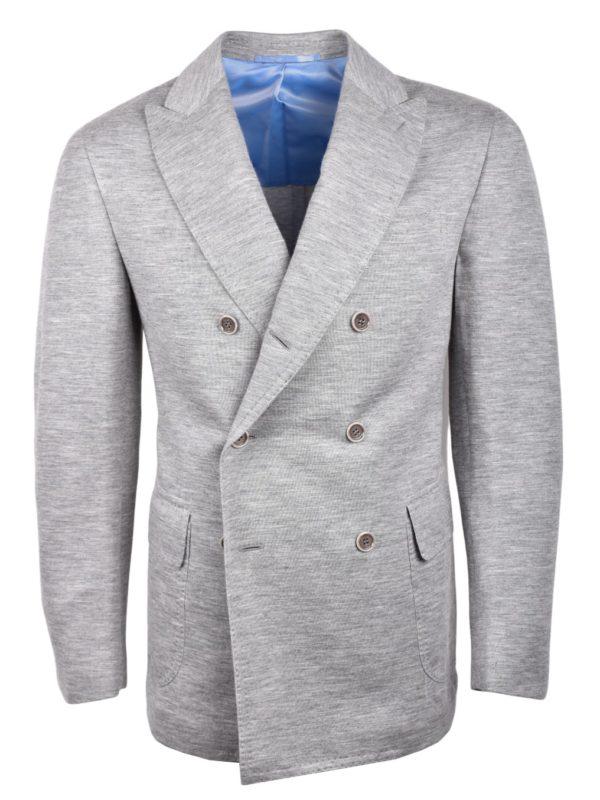 Stile Latino cashmere jersey travel suit