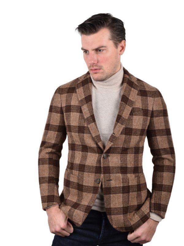 Stile Latino shetland wool blazer