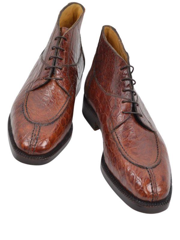 Ducal Firenze crocodile boots