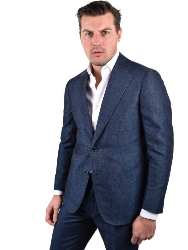 Stile Latino linen cotton suit