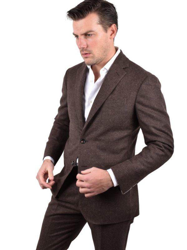 Stile Latino lambswool suit