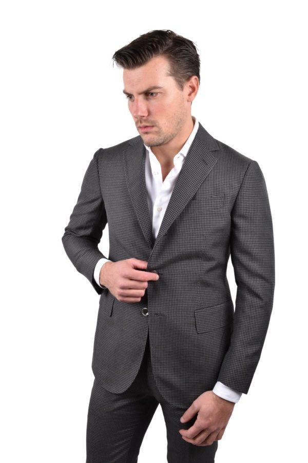Stile Latino mohair linen silk suit