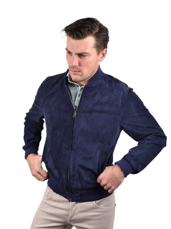 Valstar suede blouson jacket