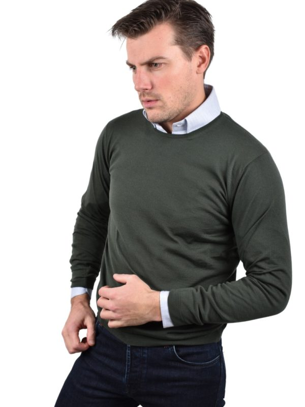 Stile Latino crew neck wool sweater