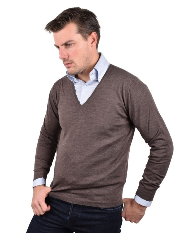 Stile Latino v-neck wool sweater