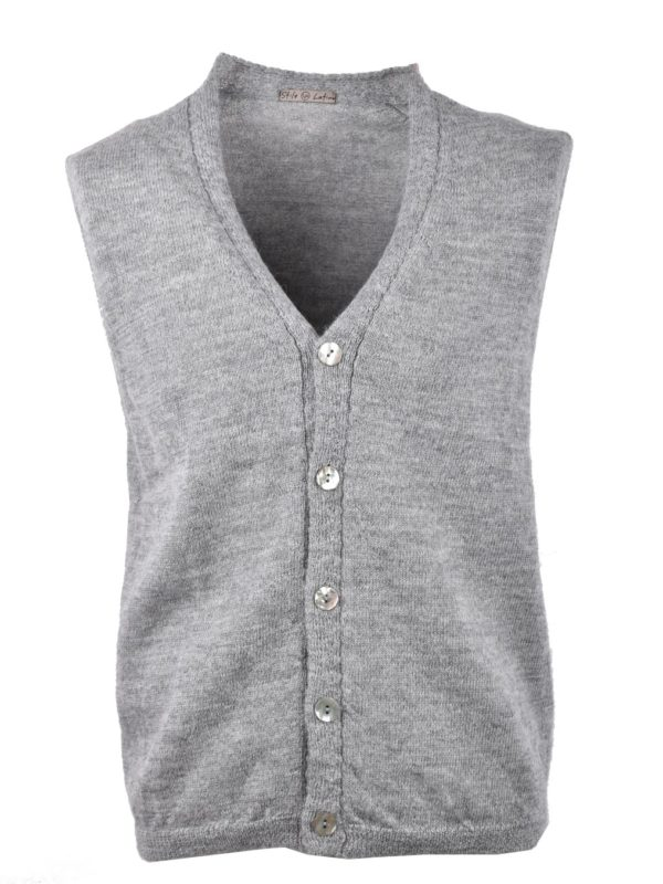 Stile Latino sleeveless cardigan