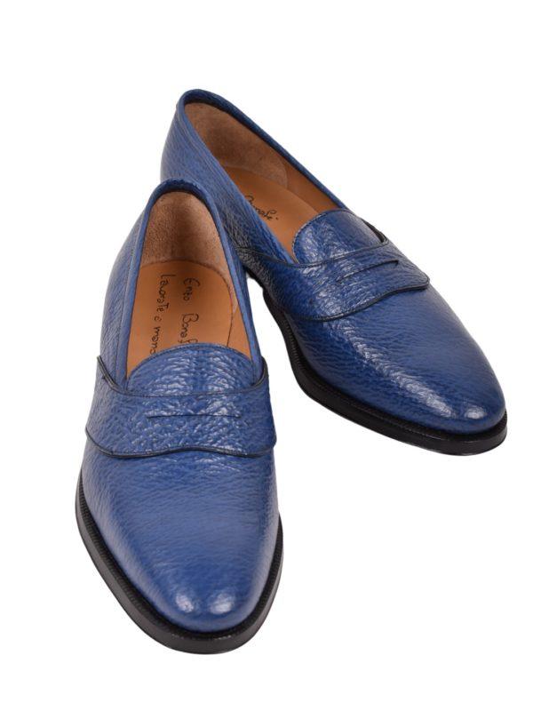 Enzo Bonafe shark skin loafers
