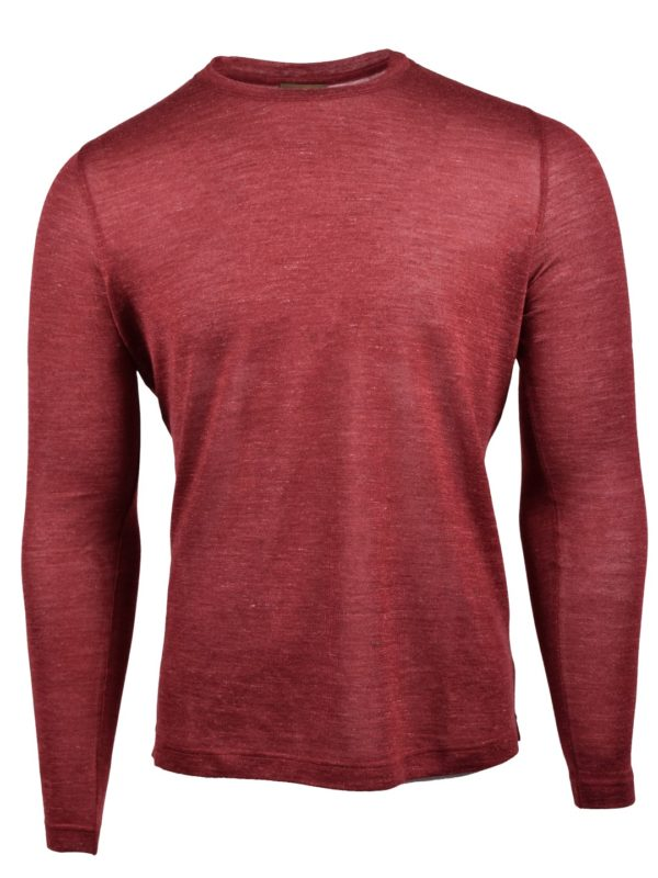 Stile Latino jumper cashmere red