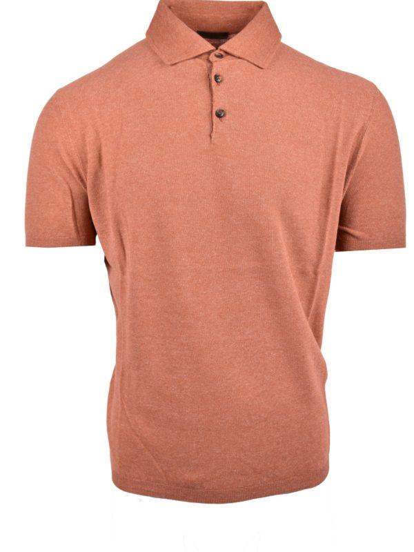 Stile Latino silk linen polo t-shirt