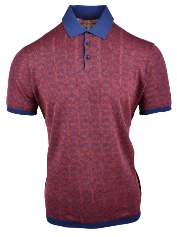 Stile Latino silk polo t-shirt