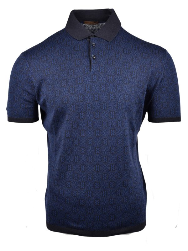 Stile Latino silk polo t-shirt