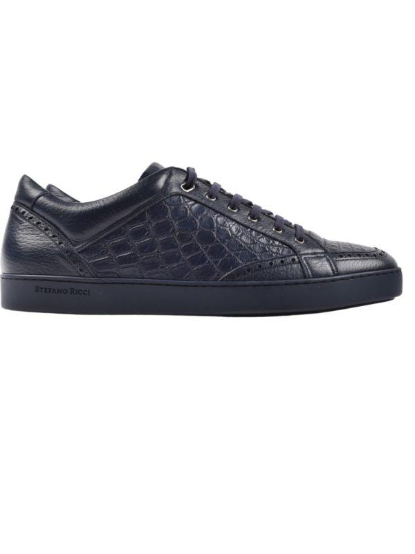 Stefano Ricci crocodile sneakers