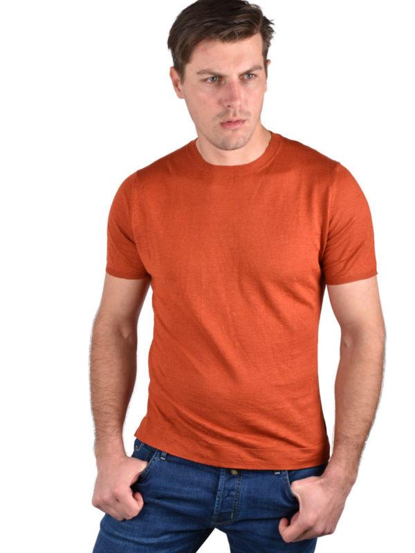 Stile Latino linen cashmere t-shirt