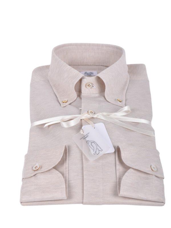Fralbo Napoli pique shirt beige