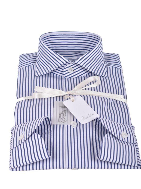 Fralbo Napoli poplin striped shirt