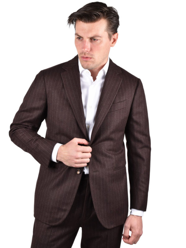 Stile Latino wool suit flannel