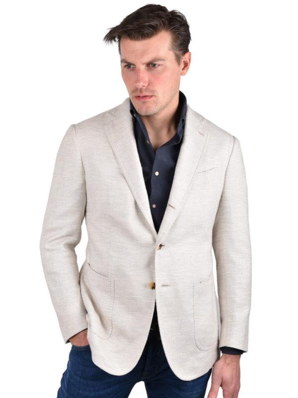 Stile Latino silk cotton blazer