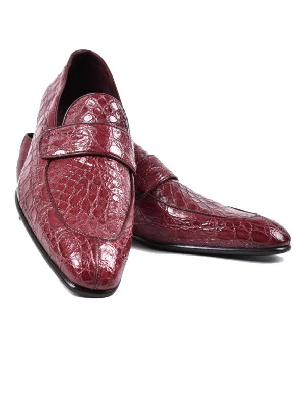 Ducal Firenze crocodile loafers