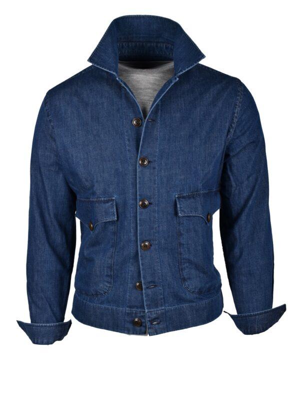 Fralbo Napoli denim jacket handmade