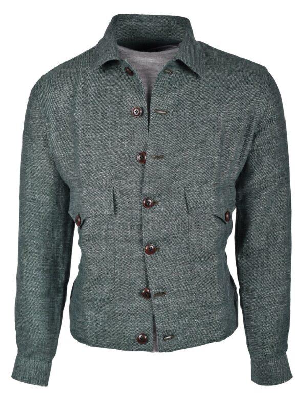 Fralbo Napoli wool linen silk jacket