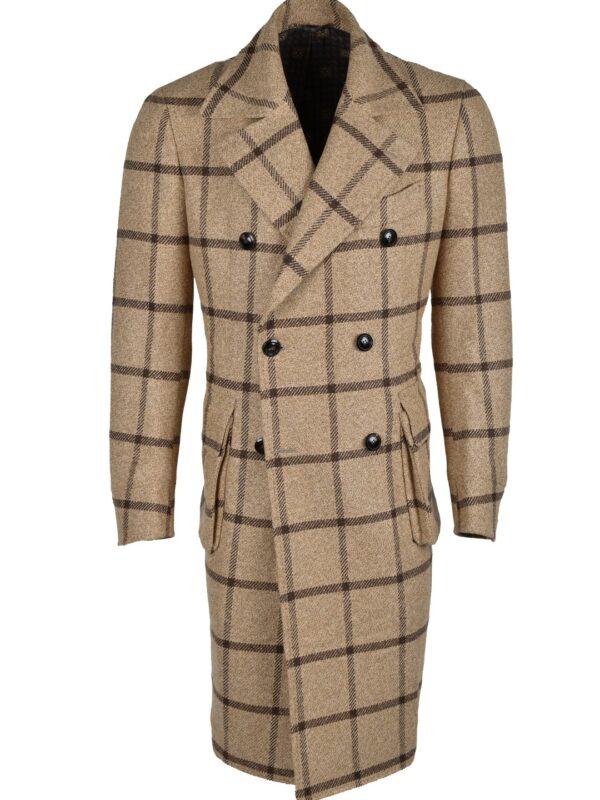 Stile Latino fall winter 2021 2022 coat wool cashmere camel