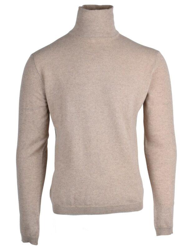 Stile Latino cashmere turtleneck sweater beige