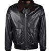 Valstar leather pilot jacket