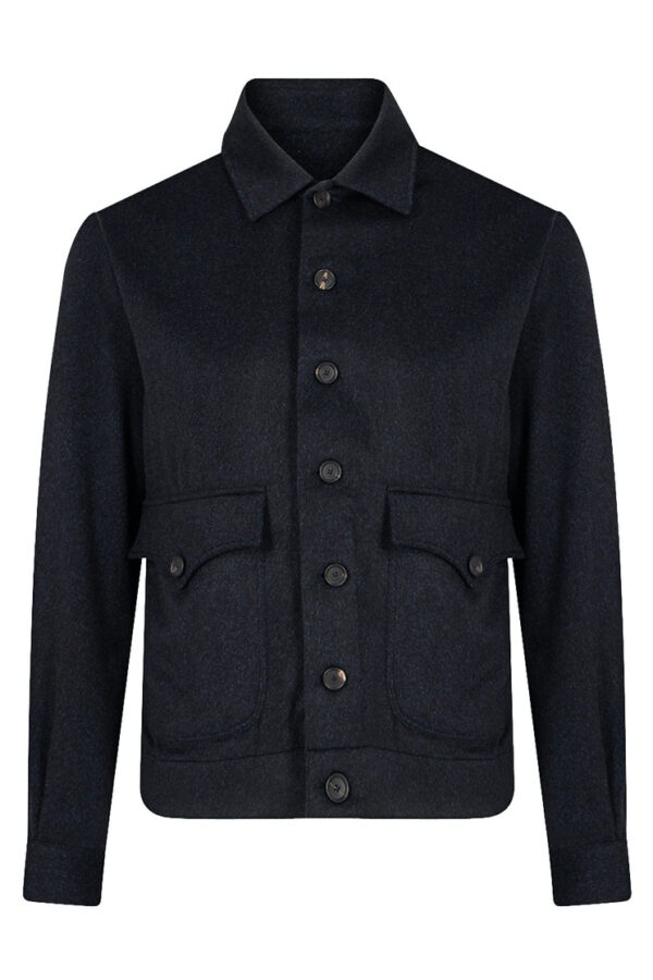Fralbo Napoli cashmere bomber jacket